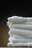 White towels, stacked