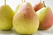 Several Forelle pears