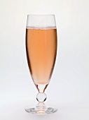 A sparkling wine cocktail