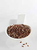 A spoonful of red rice