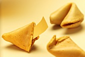Three fortune cookies