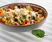 Gratin di patate e verdure (Kartoffel-Gemüse-Gratin, Italien)
