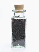Cloves in small bottle