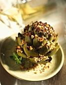 Stuffed Roasted Artichoke
