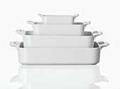 Baking dishes, nested