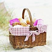 A picnic basket