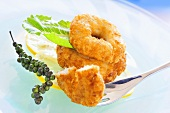 Breaded crabmeat