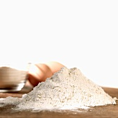 Baking ingredients (flour, eggs)