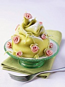 Small marzipan cake