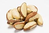 A heap of Brazil nuts