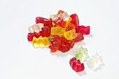 A heap of Gummi bears