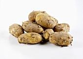 Fresh potatoes (Jersey Royals)