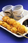 Scallop kebabs (Japan)