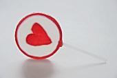 Lollipop with heart