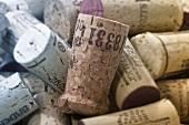 Wine corks, full-frame