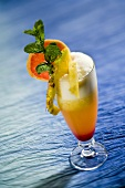 Orange and pineapple drink