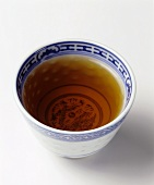 A bowl of jasmine tea