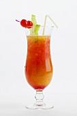 Tequila Sunrise (Tequila, grenadine syrup & orange juice)