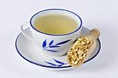 Clematis-armandii-Stengel-Tee (Clematis armandii Caulis, Mu Tong)