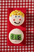 Funny cupcakes for children