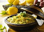 Couscous with lemons