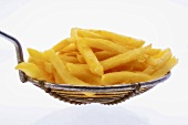 Chips on slotted spoon
