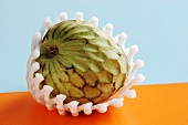 Wrapped cherimoya