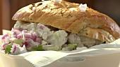A salad roll