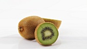 Rotating kiwi fruits