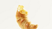 Croissant with honey