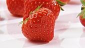 Viele Erdbeeren