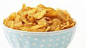 Cornflakes in einer Schale