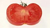 Eine Scheibe Tomate