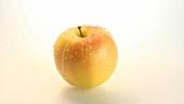 Ein sich drehender Apfel