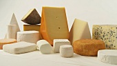 Various cheeses