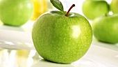 Green apples (variety 'Granny Smith')