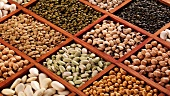 Various pulses in type case