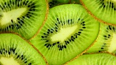 Kiwi slices (macro zoom)