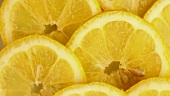 Lemon slices (macro zoom)