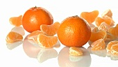 Whole clementines and segments
