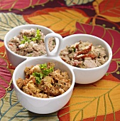 Three Types of Tuna Salad; Hawaiian, Sun Dried Tomato and Mediterranean