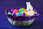 Jelly beans in bowl (Easter)