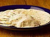 Chapatis (Indian flatbread)