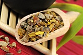 Turmeric root for making tea