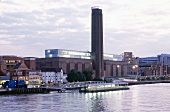 View of Tate Modern art gallery in London, UK