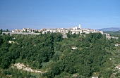 View of town at St-Paul-de-Vence in Provence, France