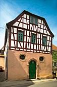 Half-timbered house in Florsheim-Dalsheim, Rheinhessen, Germany
