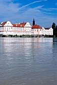 Schloss Neuhaus castle near river inn, Passau, Germany