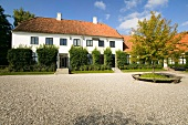 View of Karen Blixen Museum in Rungstedlund, Oresund, Denmark