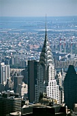 View of Chrysler Building in Manhattan, New York, USA